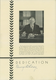 Page 7, 1937 Edition, Washington High School - Surveyor Yearbook (Rochester, NY) online yearbook collection