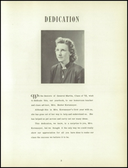 Page 7, 1952 Edition, General Martin High School - Martinian Yearbook (Glenfield, NY) online yearbook collection