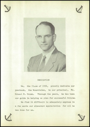 Page 9, 1956 Edition, Woestina High School - Woestinian Yearbook (Rotterdam Junction, NY) online yearbook collection