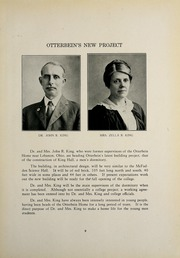 Page 13, 1926 Edition, Otterbein University - Sibyl Yearbook (Westerville, OH) online yearbook collection