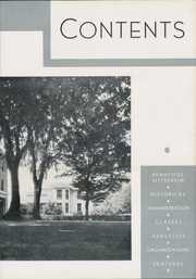 Page 11, 1934 Edition, Otterbein University - Sibyl Yearbook (Westerville, OH) online yearbook collection