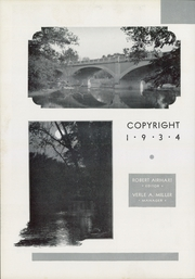 Page 6, 1934 Edition, Otterbein University - Sibyl Yearbook (Westerville, OH) online yearbook collection