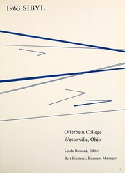 Page 5, 1963 Edition, Otterbein University - Sibyl Yearbook (Westerville, OH) online yearbook collection