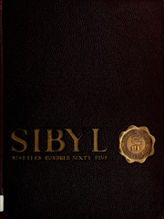 1965 Edition, Otterbein University - Sibyl Yearbook (Westerville, OH)