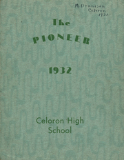 Page 1, 1932 Edition, Celoron High School - Sentinel Yearbook (Celoron, NY) online yearbook collection