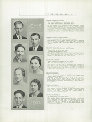 Page 6, 1932 Edition, Celoron High School - Sentinel Yearbook (Celoron, NY) online yearbook collection