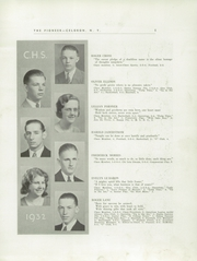 Page 7, 1932 Edition, Celoron High School - Sentinel Yearbook (Celoron, NY) online yearbook collection