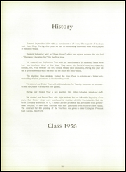 Page 14, 1958 Edition, Dunkirk Industrial High School - Tradesman Yearbook (Dunkirk, NY) online yearbook collection