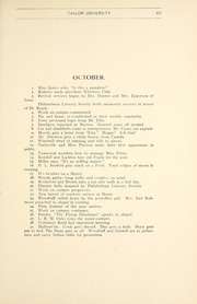 Page 105, 1903 Edition, Taylor University - Ilium Gem Yearbook (Upland, IN) online yearbook collection