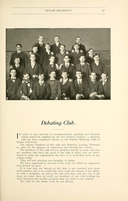 Page 91, 1903 Edition, Taylor University - Ilium Gem Yearbook (Upland, IN) online yearbook collection
