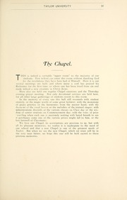 Page 95, 1903 Edition, Taylor University - Ilium Gem Yearbook (Upland, IN) online yearbook collection