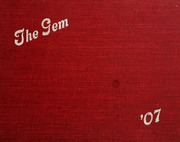 Taylor University - Ilium Gem Yearbook (Upland, IN) online yearbook collection, 1907 Edition, Page 1