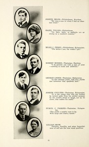 Page 56, 1915 Edition, Taylor University - Ilium Gem Yearbook (Upland, IN) online yearbook collection