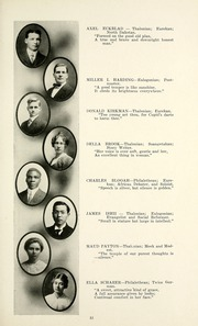 Page 57, 1915 Edition, Taylor University - Ilium Gem Yearbook (Upland, IN) online yearbook collection