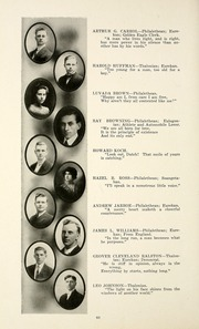 Page 64, 1915 Edition, Taylor University - Ilium Gem Yearbook (Upland, IN) online yearbook collection
