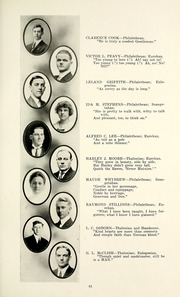 Page 65, 1915 Edition, Taylor University - Ilium Gem Yearbook (Upland, IN) online yearbook collection