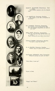 Page 66, 1915 Edition, Taylor University - Ilium Gem Yearbook (Upland, IN) online yearbook collection