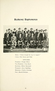 Page 69, 1915 Edition, Taylor University - Ilium Gem Yearbook (Upland, IN) online yearbook collection