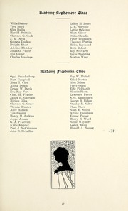 Page 71, 1915 Edition, Taylor University - Ilium Gem Yearbook (Upland, IN) online yearbook collection