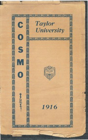 Taylor University - Ilium Gem Yearbook (Upland, IN) online yearbook collection, 1916 Edition, Page 1