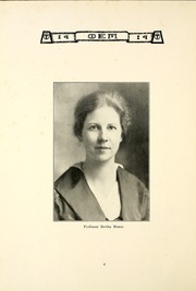 Page 10, 1919 Edition, Taylor University - Ilium Gem Yearbook (Upland, IN) online yearbook collection