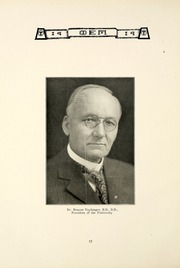 Page 16, 1919 Edition, Taylor University - Ilium Gem Yearbook (Upland, IN) online yearbook collection