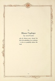 Page 8, 1922 Edition, Taylor University - Ilium Gem Yearbook (Upland, IN) online yearbook collection