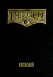 Page 1, 1923 Edition, Taylor University - Ilium Gem Yearbook (Upland, IN) online yearbook collection