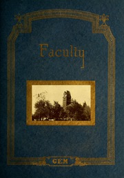 Page 17, 1923 Edition, Taylor University - Ilium Gem Yearbook (Upland, IN) online yearbook collection