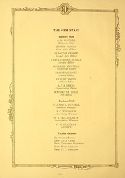 Page 8, 1923 Edition, Taylor University - Ilium Gem Yearbook (Upland, IN) online yearbook collection
