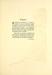 Page 11, 1926 Edition, Taylor University - Ilium Gem Yearbook (Upland, IN) online yearbook collection