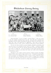 Page 88, 1927 Edition, Taylor University - Ilium Gem Yearbook (Upland, IN) online yearbook collection