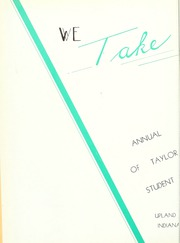 Page 6, 1939 Edition, Taylor University - Ilium Gem Yearbook (Upland, IN) online yearbook collection