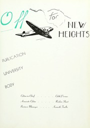 Page 7, 1939 Edition, Taylor University - Ilium Gem Yearbook (Upland, IN) online yearbook collection