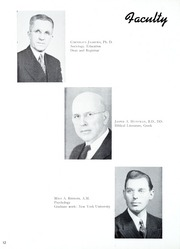 Page 16, 1945 Edition, Taylor University - Ilium Gem Yearbook (Upland, IN) online yearbook collection