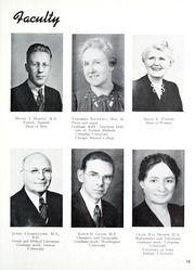 Page 17, 1945 Edition, Taylor University - Ilium Gem Yearbook (Upland, IN) online yearbook collection