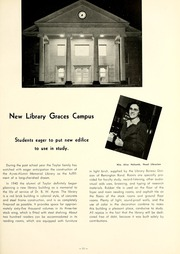 Page 15, 1950 Edition, Taylor University - Ilium Gem Yearbook (Upland, IN) online yearbook collection