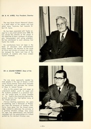 Page 17, 1950 Edition, Taylor University - Ilium Gem Yearbook (Upland, IN) online yearbook collection