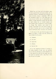 Page 9, 1950 Edition, Taylor University - Ilium Gem Yearbook (Upland, IN) online yearbook collection