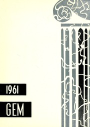 Taylor University - Ilium Gem Yearbook (Upland, IN) online yearbook collection, 1961 Edition, Page 1