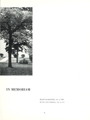 Page 11, 1962 Edition, Taylor University - Ilium Gem Yearbook (Upland, IN) online yearbook collection