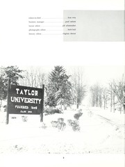 Page 6, 1962 Edition, Taylor University - Ilium Gem Yearbook (Upland, IN) online yearbook collection