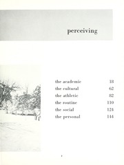 Page 7, 1962 Edition, Taylor University - Ilium Gem Yearbook (Upland, IN) online yearbook collection
