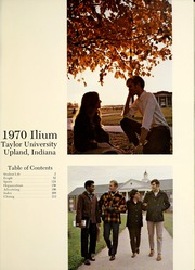 Page 5, 1970 Edition, Taylor University - Ilium Gem Yearbook (Upland, IN) online yearbook collection