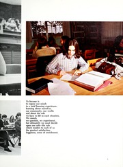 Page 9, 1972 Edition, Taylor University - Ilium Gem Yearbook (Upland, IN) online yearbook collection