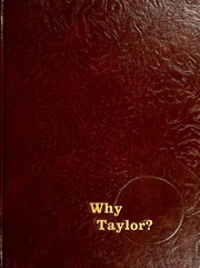 1980 Edition, Taylor University - Ilium Gem Yearbook (Upland, IN)