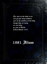 Page 1, 1981 Edition, Taylor University - Ilium Gem Yearbook (Upland, IN) online yearbook collection