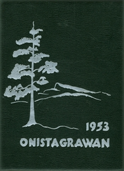 1953 Edition, Middleburgh High School - Onistagrawan Yearbook (Middleburgh, NY)
