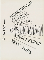 Page 5, 1956 Edition, Middleburgh High School - Onistagrawan Yearbook (Middleburgh, NY) online yearbook collection