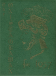 1957 Edition, Middleburgh High School - Onistagrawan Yearbook (Middleburgh, NY)